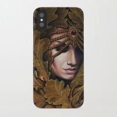 Mabon - goddess of fall iPhone X Slim Case