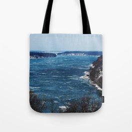 Endless Blue Tote Bag