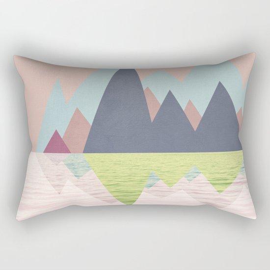 Spring Landscape Rectangular Pillow