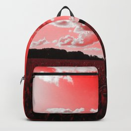 meadow and clouds dr Backpack