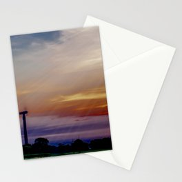 radios solis occasum Horumersiel Stationery Cards