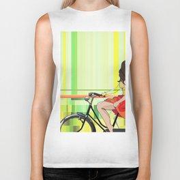 Sentiments d'été - le velo Biker Tank
