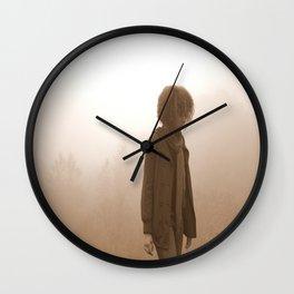 kiss my fog Wall Clock