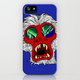 """Arctic Monkey"" by Virginia McCarthy iPhone Case"