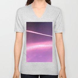 Blotchiness in sky Unisex V-Neck