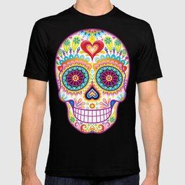 Sugar Skull Art (Luminesce) T-shirt