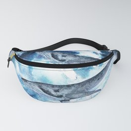 Flying Whales Fanny Pack