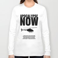 apocalypse now Long Sleeve T-shirts featuring Apocalypse Now Move Poster by FunnyFaceArt