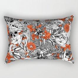 Sixth Mix Black Rectangular Pillow