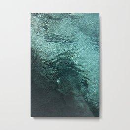 50 shades of WATER Metal Print