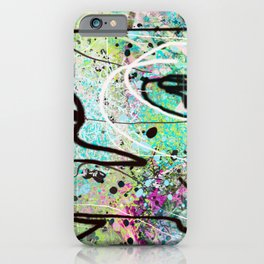 Untitled Digital Abstract No.44 iPhone Case