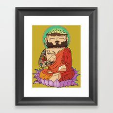 Gautama Block Framed Art Print