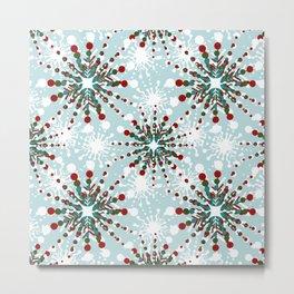 Christmas Nordic de Lite - CNDL006 Metal Print