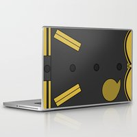 soul eater Laptop & iPad Skins featuring Soul Eater Evans Jacket by Bunny Frost