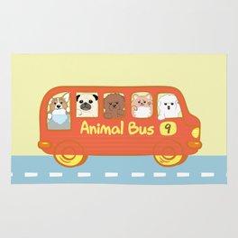 Animal bus no.9 Rug