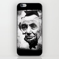 lincoln iPhone & iPod Skins featuring Lincoln by 6-4-3