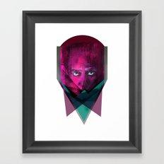 THREE-ANGLE Framed Art Print
