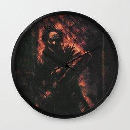 The Texas Chainsaw Massacre Wall Clock