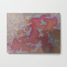little colour rivers  Metal Print