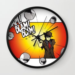 Bullet Time Wall Clock