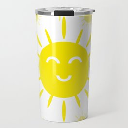 Summer mood. The sun is shining Travel Mug