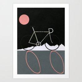 Tour de Noir Art Print
