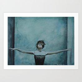 Imogen Heap | Watercolor Painting Art Print