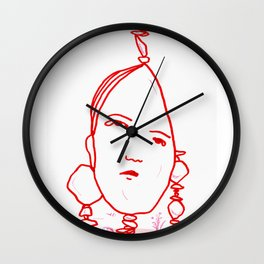 Everything is alive Wall Clock