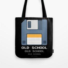 Old School Computer Floppy Diskette Tote Bag