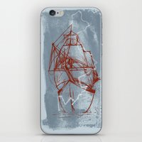 boston iPhone & iPod Skins featuring Boston by LizSchafroth