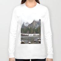 yosemite Long Sleeve T-shirts featuring Yosemite by Lydia Gifford