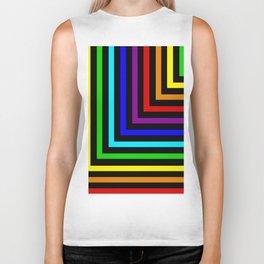 Rainbow Corners Biker Tank
