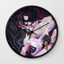 The Skull and The Horse Wall Clock