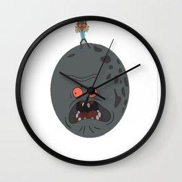Majorty_s Mask T-Shirt Wall Clock