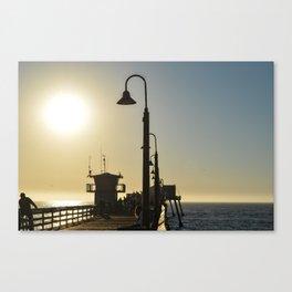 San Diego Pier  Canvas Print