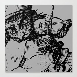 Gobbi in Grey Canvas Print