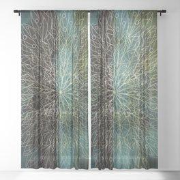 Forest Mandala Sheer Curtain