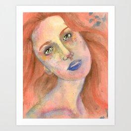Anna Sun Art Print
