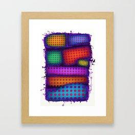 Reactive wall Framed Art Print