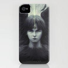 Eye of Raven iPhone (4, 4s) Slim Case