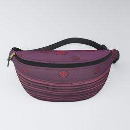 New horizon purple Fanny Pack