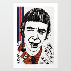 THE MODERNISTS - Woody Art Print