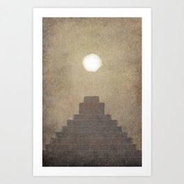 Christ Visits the Nephites Art Print