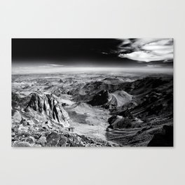 jebel sirwa Canvas Print