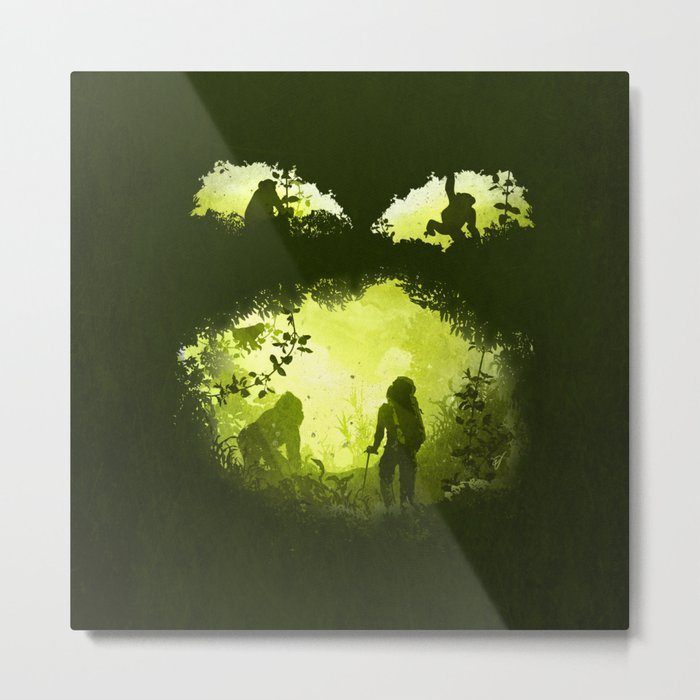 In the Heart of the Jungle Metal Print
