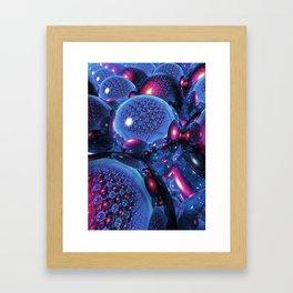 Eternal Spherical Reflection Framed Art Print