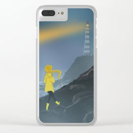 Hope of a Lighthouse Clear iPhone Case