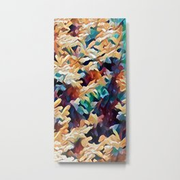 Sea Salad I Metal Print