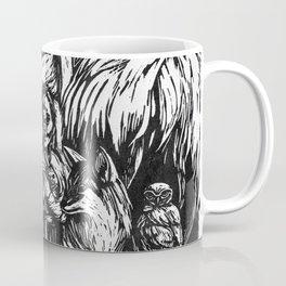 Desert Peaceable Kingdom Coffee Mug