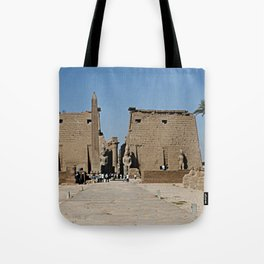 Temple of Luxor, no. 13 Tote Bag